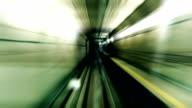 Fast stylized subway video