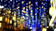 Fastival Light blur background video