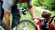 Father and Son Bicycle video