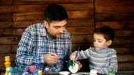 father and son paint colors ceramic pottery video