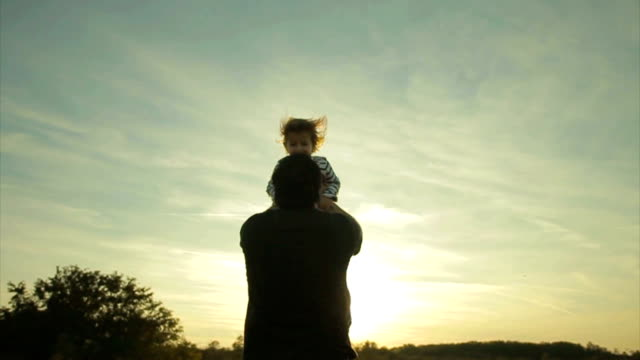 father and son video