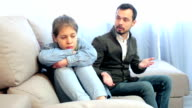 father quarrelling with his daughter video
