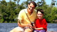 Father & Son Fishing Success video