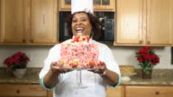 Faux Celebrity Chef Presents a Cake video