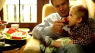 feeding a baby video