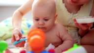 feeding of 9 month old baby video