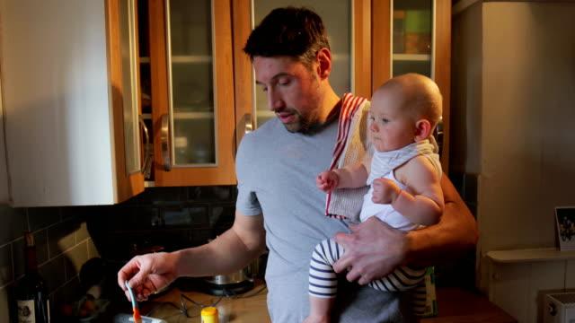 Feeding The Baby video