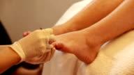 Feet And Nails Scrub video