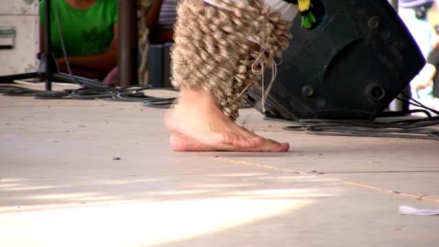 Feet dancing video
