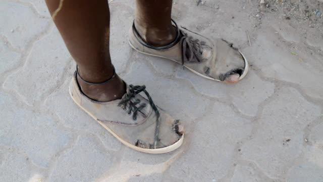 CU Feet Of A Poor African Teenager video