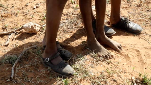 CU Feet Of Himba Children video