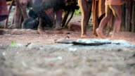 LA Feet Of Himba Tribe video