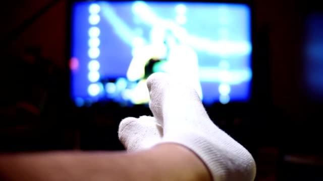 Feet Up Watching TV video