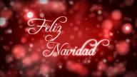 Feliz Navidad On a Bed Of Lights video
