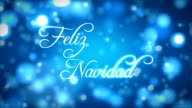 Feliz Navidad On a Bed Of Lights video