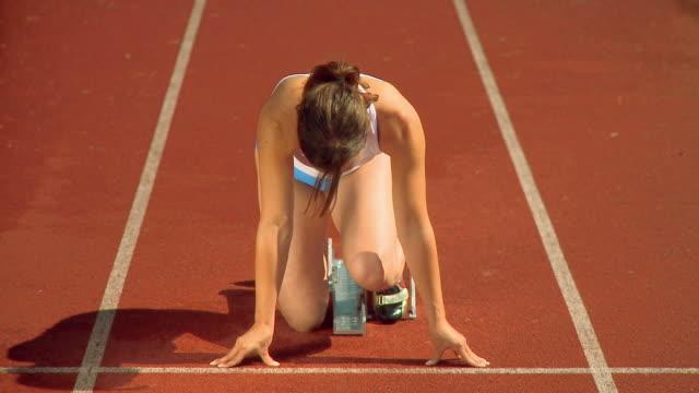 HD: Female Athlete video