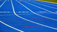 Female Athletes Sprinting Medium Shot video