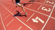 HD SLOW-MOTION: Female Athletes video