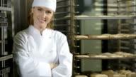 Female Baker; HD Photo JPEG video