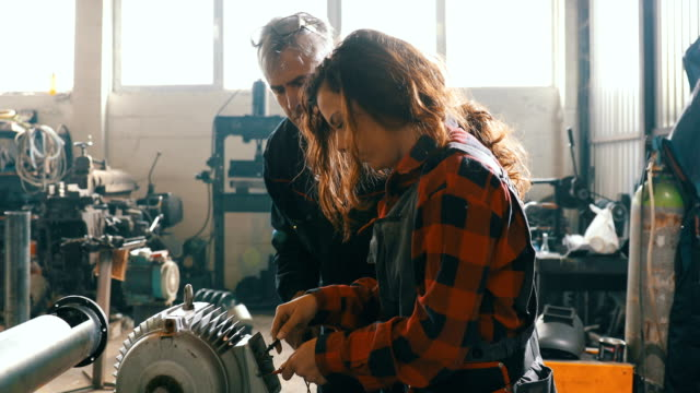Female Bicycle Mechanic video