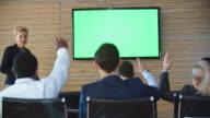 Female Business Coach Training Staff video