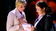 Female business executives video