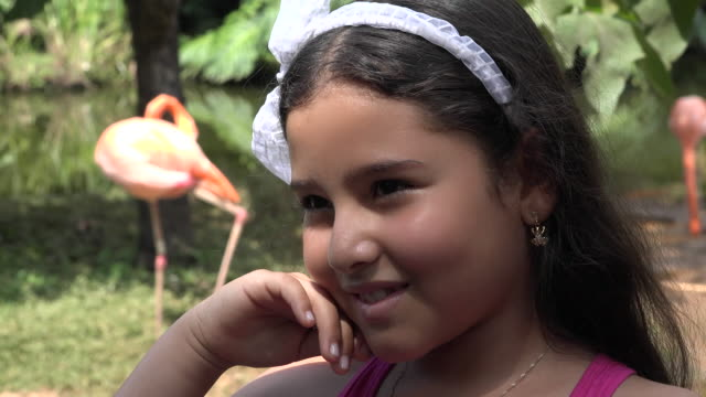 Female Child in Outdoors video