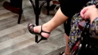 Female feet video