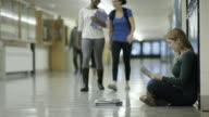 Female getting bullied at school video