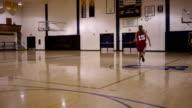 Female High School Basketball Player video
