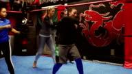 Female Mixed Martial Arts Class video