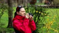 Female photographer video