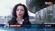 HD: Female Reporter On Location video