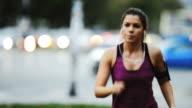 Female runner video