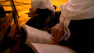 Female school in Afghanistan. Girls studying. video
