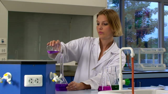 Female Scientist video