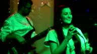 Female singer. video