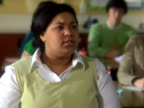 PAL - Female student participates in class video
