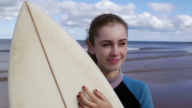 Female Surfer video