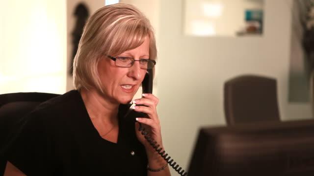 Female Telephonist video