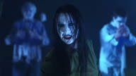 HD: Female Zombie Beckoning video