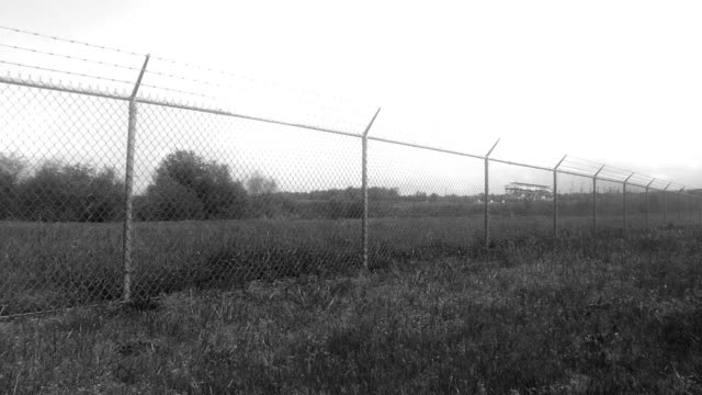 Fence Around Airport video
