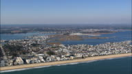 Fenwick Island  - Aerial View - Delaware,  Sussex County,  United States video