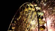 Ferris Wheel and Fireworks video