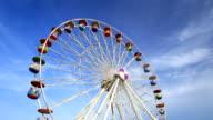 Ferris Wheel at amusement park video
