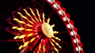 Ferris Wheel at Carnival - Time Lapse video