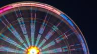 Ferris Wheel at Night video
