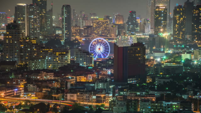 Ferris Wheel in Bangkok video