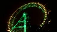 Ferris wheel in Prater park in Vienna (HD) video