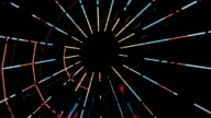 Ferris Wheel Lights at Night video
